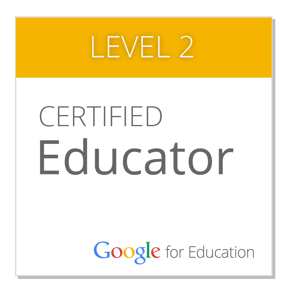 Google Certified Educator- Level 2