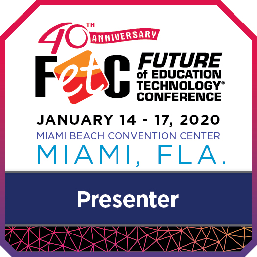 FETC 20 presenter badge